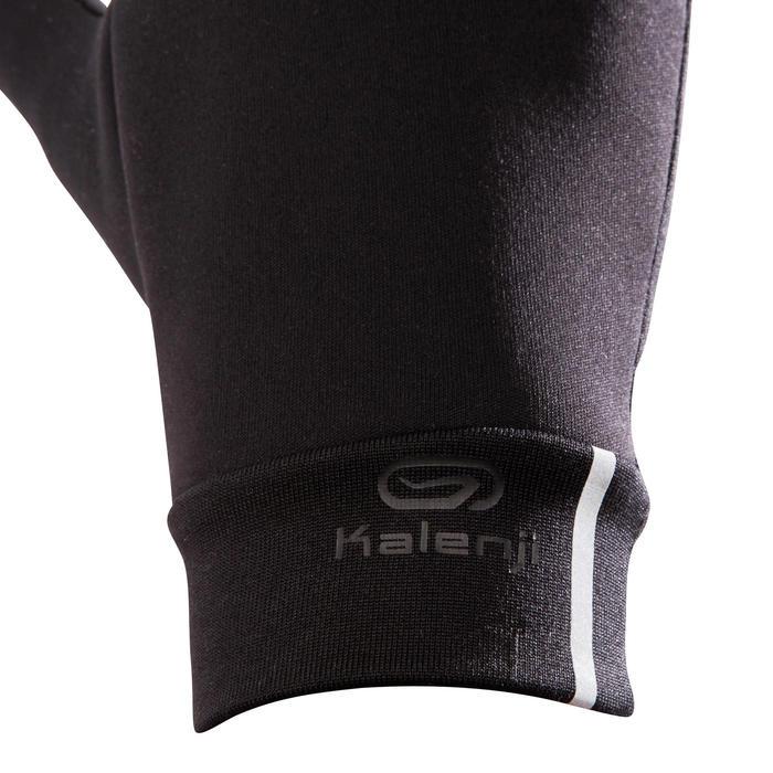 Tactiele handschoenen voor hardlopen zwart