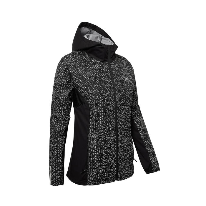 VESTE RUNNING RUN RAIN NOIRE NIGHT FEMME