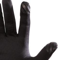 Negro Kalenji Running Guantes t/áctiles