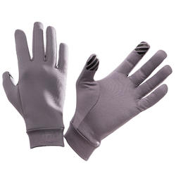 Touchscreen Gloves - grey purple