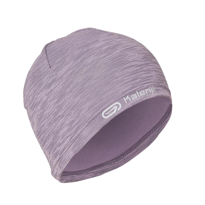 BONNET CHAUD RUNNING RUN WARM + VIOLET CHINE