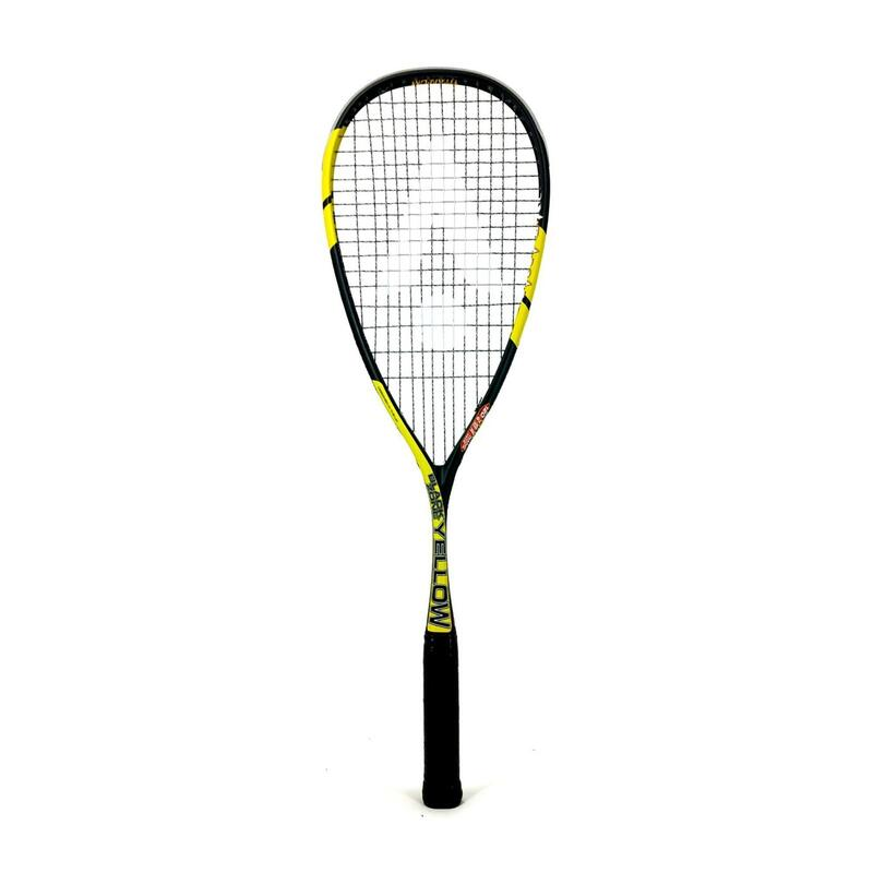 Racchetta squash adulto BLACKZONE gialla
