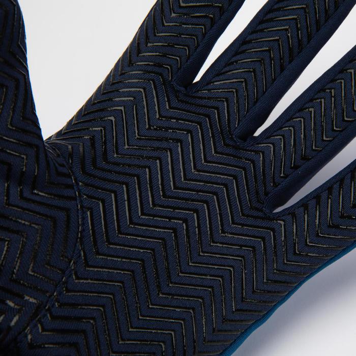 Handschoenen voor voetbal kinderen Keepdry 500 oceaanblauw