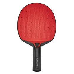 戶外桌球拍2020 PPR 130 - 黑紅配色