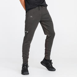 PANTALON RUNNING RUN WARM + KAKI FONCE HOMME