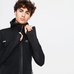 VESTE RUNNING RUN WARM + NOIR HOMME