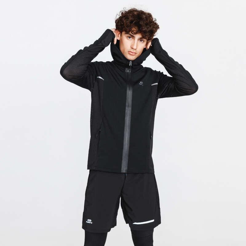 ERKEK DÜZENLİ KOŞU SOĞUK HAVA GİYİM Koşu - RUN WARM + EŞOFMAN ÜSTÜ KALENJI - Erkek Koşu Kıyafetleri