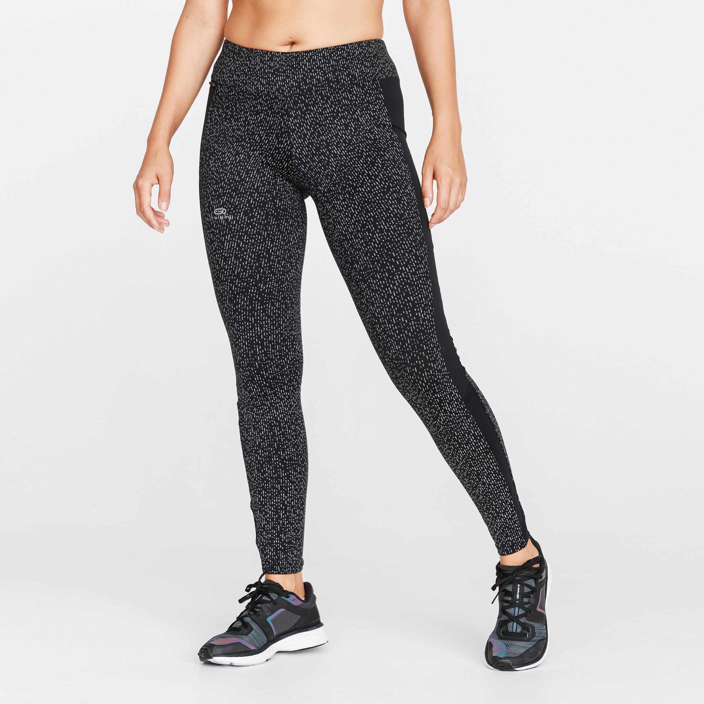 Run Warm + Women's Running Warm Tights - Night Black ...
