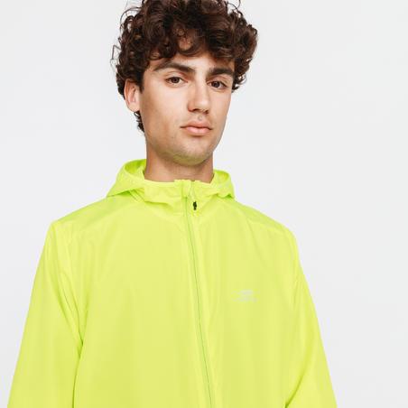 Manteau à capuchon Run Wind – Hommes