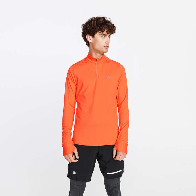 FérFérfi őszi-téli ruházat - alkalmankénti Futás - Férfi futófelső RUN WARM KALENJI - Futás