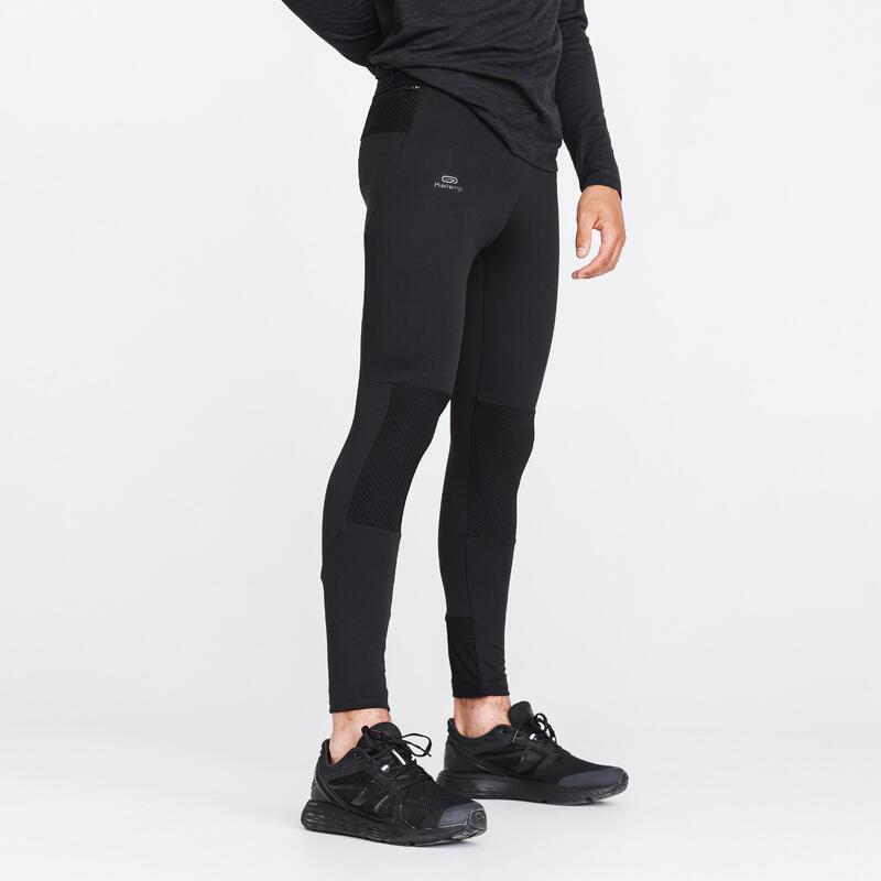 Hardlooptight voor heren Run Warm+ zwart