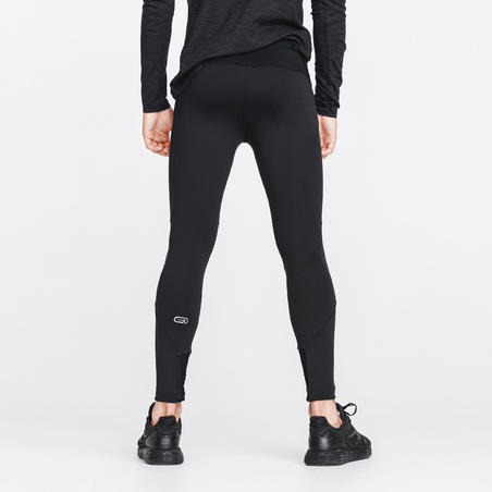 RUN WARM+ MEN'S RUNNING TIGHTS - BLACK
