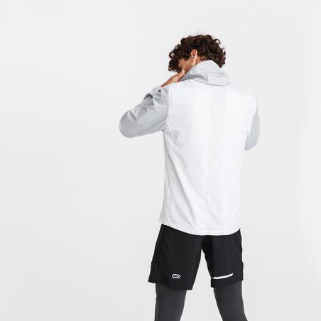 RUN WIND MEN'S RUNNING WINDPROOF JACKET - WHITE