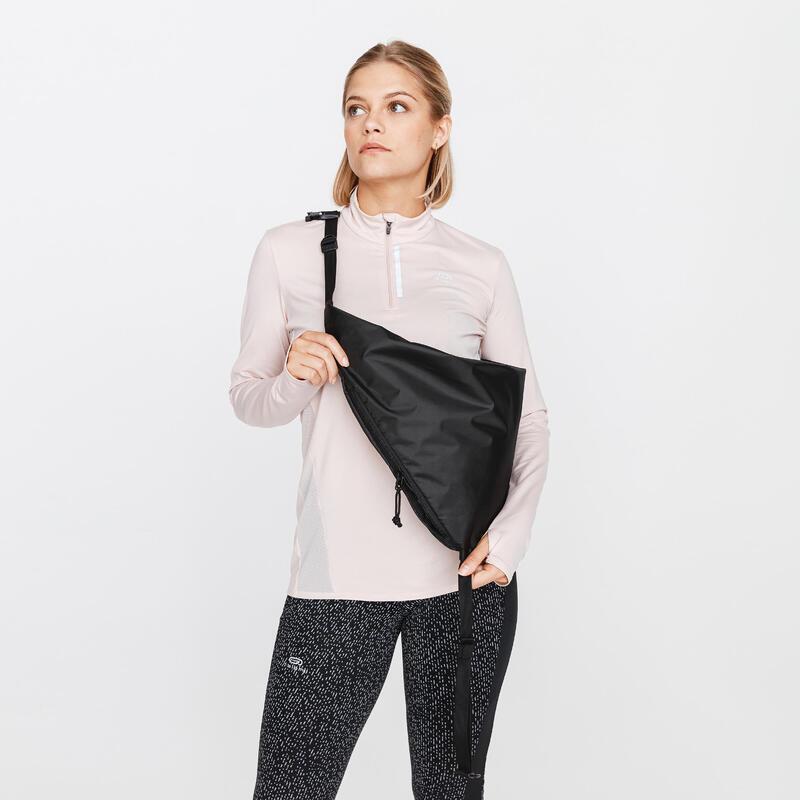 Běžecká taška Plogging černá