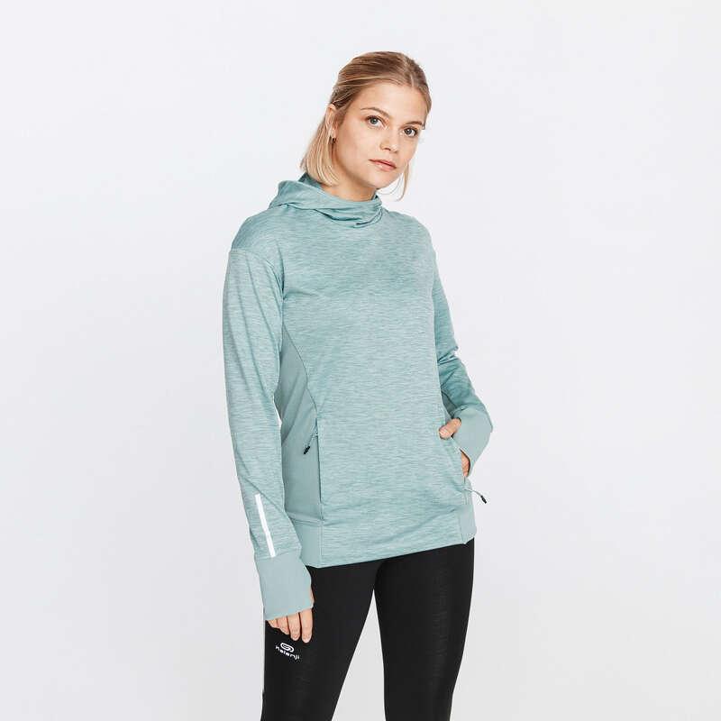 KADIN DÜZENLİ KOŞU SOĞUK HAVA GİYİM Koşu - RUN WARM SWEATSHIRT KALENJI - Kadın Koşu Kıyafetleri