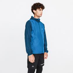 男款跑步防風外套Run Wind - 普魯士藍