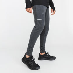 PANTALON RUNNING RUN WARM + GRIS HOMME