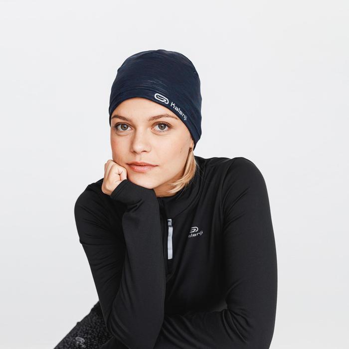 保暖跑步帽Run Warm + - 軍藍色