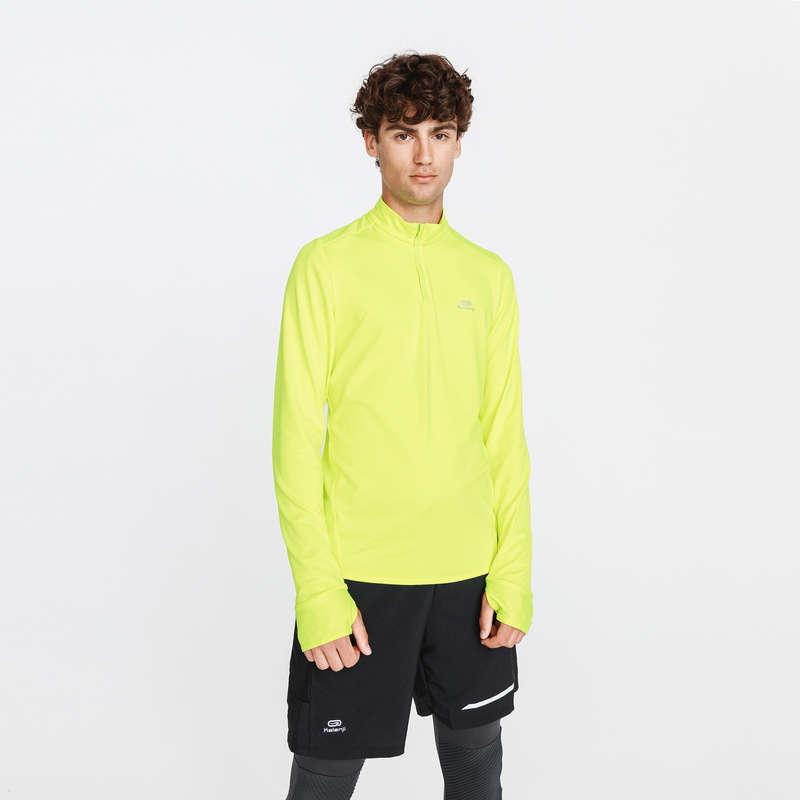 Kaltes Wetter Herren  Einsteiger Herrenbekleidung - Laufshirt Run Warm KALENJI - Nach Sportart