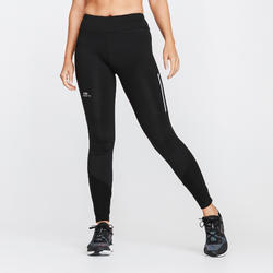 RUN WARM WOMEN'S RUNNING TIGHTS - BLACK