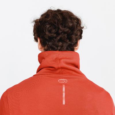 RUN WARM + MEN'S RUNNING SWEATSHIRT BRICK RED
