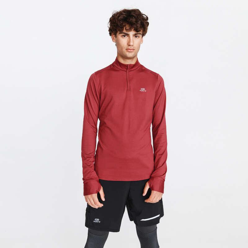 ÎMBRĂCĂMINTE JOGGING PROTECȚIE FRIG BĂRBAȚI Alergare - Bluză Jogging Run Warm Bărbați KALENJI - Imbracaminte