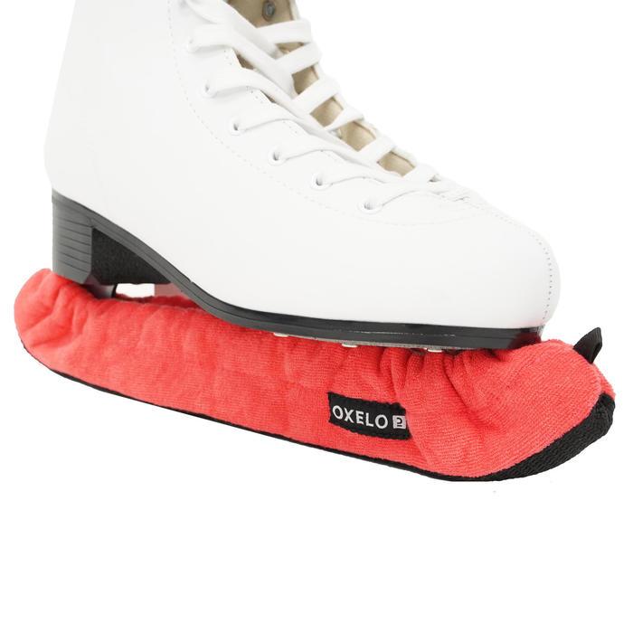 Couvre lame patins à glace corail
