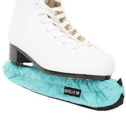 Couvre lame patins à glace turquoise