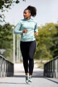 DÁMSKÉ OBLEČENÍ NA JOGGING DO CHLADNÉHO POČASÍ, PRAVIDELNÉ POUŽITÍ Běh - BĚŽECKÉ LEGÍNY RUN WARM+  KALENJI - Běžecké oblečení