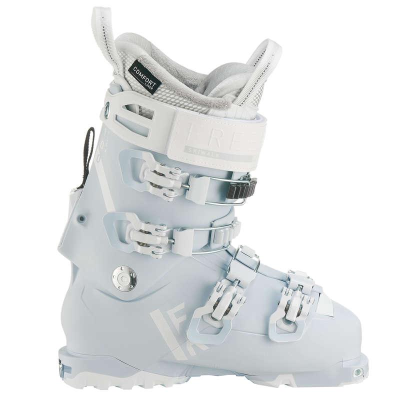 WOMEN'S FREERIDE SKI BOOTS Vintersport - PJÄXOR FR900 LT FLEX100 DAM WEDZE - Skidåkning - Randonnée