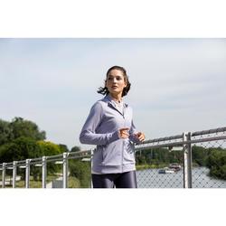 Run Warm Women's Running Hooded Jacket - Purple
