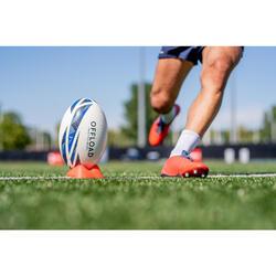 Tee rugby laag R100 oranje