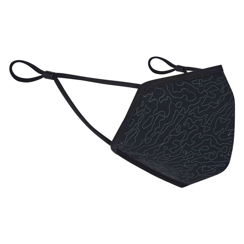 ANTIPOLLUTION AND WARM MASKS Cycling - element reusable face covering MADISON - Cycling