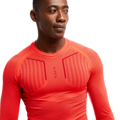 Adult Base Layer Keepdry 500 - Bright Red