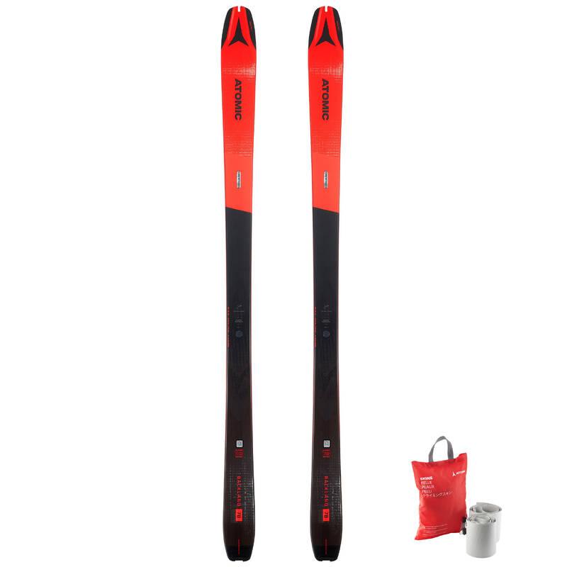 SKI TOURING Skialpinismus - LYŽE BACKLAND 78 + PÁSY ATOMIC - Skialpové vybavení