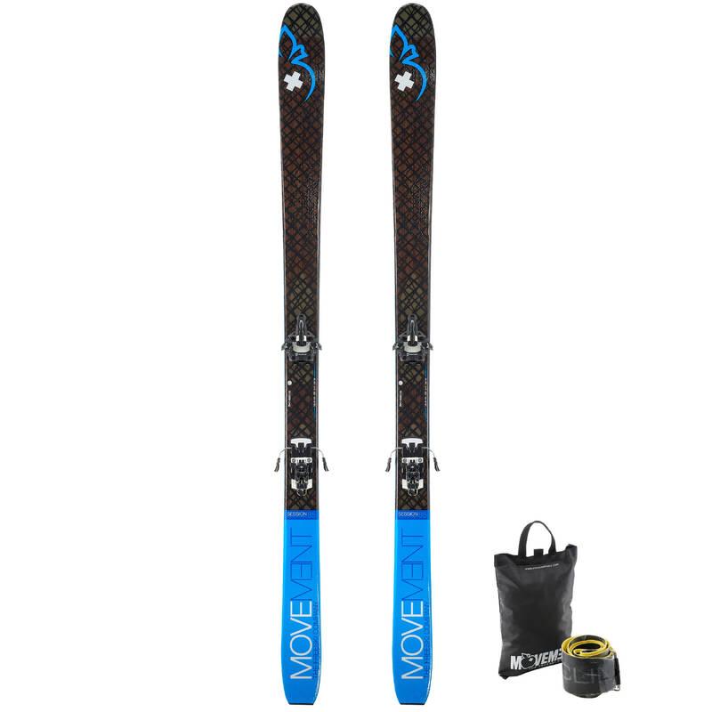 SKI TOURING Skialpinismus - SET LYŽÍ A PÁSŮ SESSION 85 MOVEMENT - Skialpové vybavení