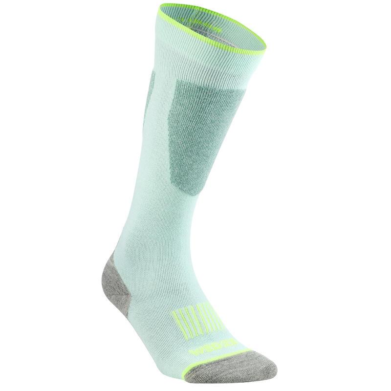 Adult Ski Socks 100 - Sea Green