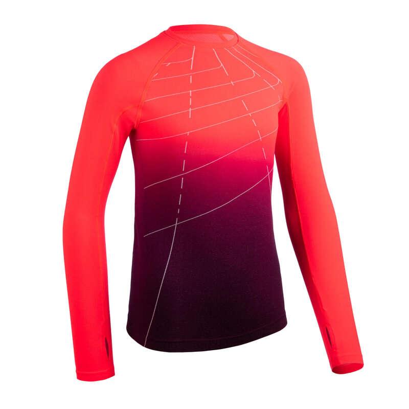 ÎMBRĂCĂMINTE ȘI ACCESORII ATLETISM COPII Imbracaminte - Bluză Alergare AT500 SKINCARE  KALENJI - Imbracaminte
