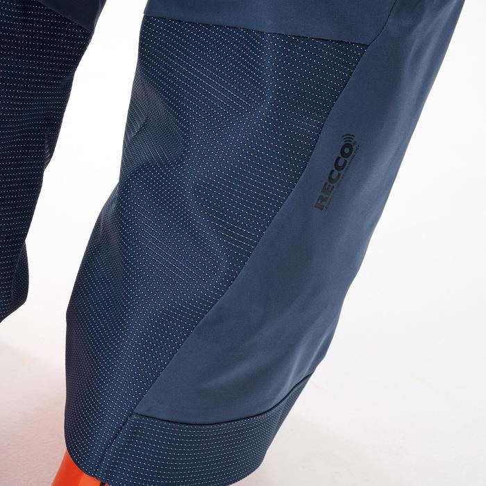 SALOPETTE DE SKI FREERIDE 900 protection dorsale intégrée BIB PROTECT BLEUE