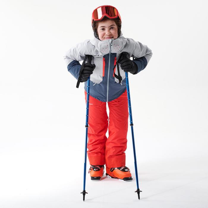 Skibroek voor kinderen Freeski 500 rood