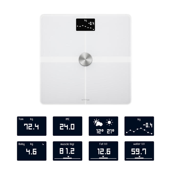 Balance connectée Withings Body + blanc