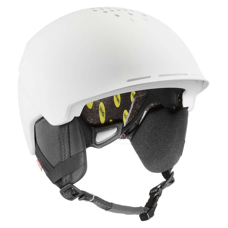 ЗАЩИТНЫЕ ШЛЕМЫ ДЛЯ ФРИРАЙДА НА ГОРНЫХ ЛЫЖАХ Шлемы - Шлем белый HLT FR900 Mips WEDZE - Шлемы