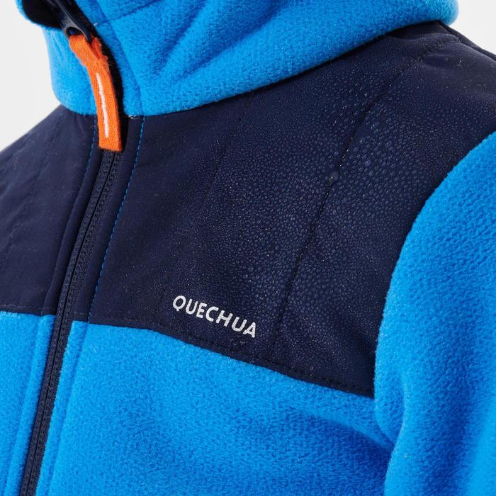 Fleece jas voor skiën en wandelen voor kinderen 2-6 jaar MH500 blauw