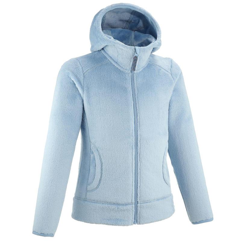 MH100 fleece hiking jacket - Kids