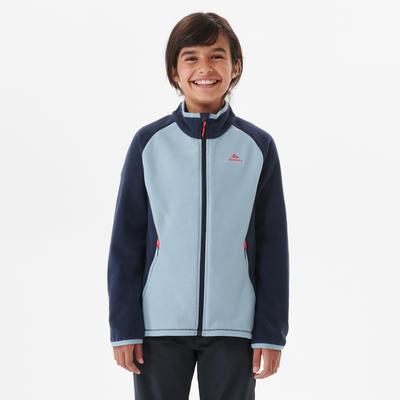 Kids' Fleece Hiking Jacket MH150 7-15 Years - Blue