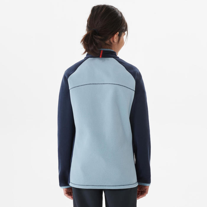 Fleecevest voor wandelen/skiën kinderen MH150 7-15 jaar blauw