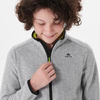Veste polaire de randonnée - MH150 grise - enfant 7-15 ans
