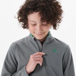 Wandelfleece voor kinderen MH100 grijs 7-15 jaar