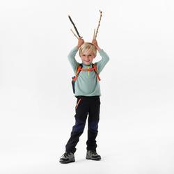 Polaire de randonnée et ski - MH100 verte - enfant 2-6 ans
