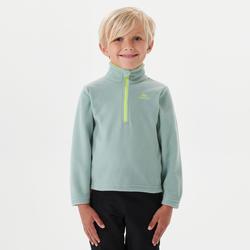 Saco polar senderismo y esquí - MH100 verde - niños 2-6 años
